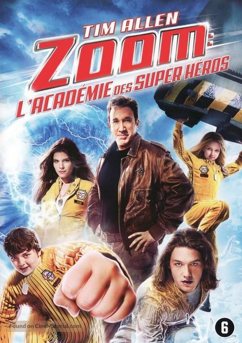 Zoom - Belgian DVD movie cover
