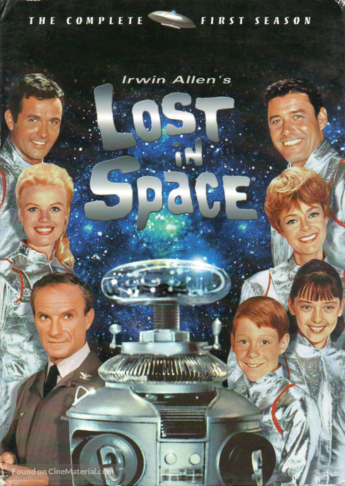 """""""Lost in Space"""" - DVD movie cover"""