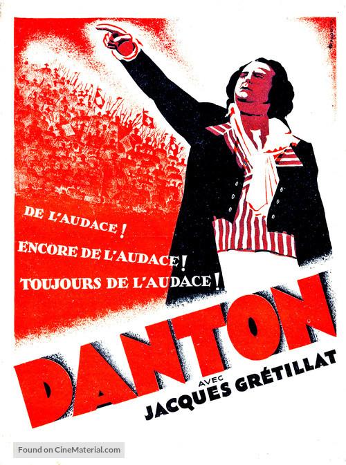 Danton - French Movie Poster