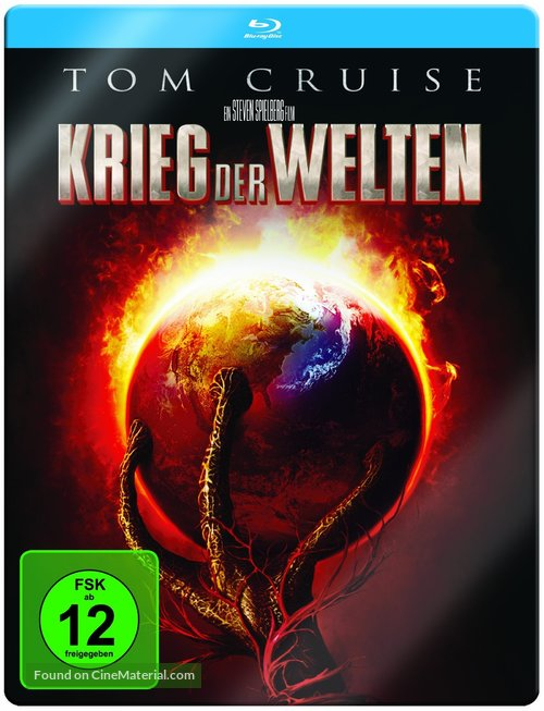 War of the Worlds - German Movie Cover