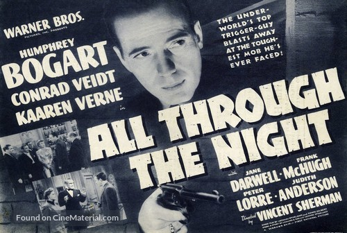 All Through the Night - poster