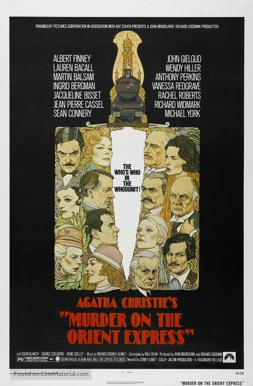 Murder on the Orient Express - Movie Poster