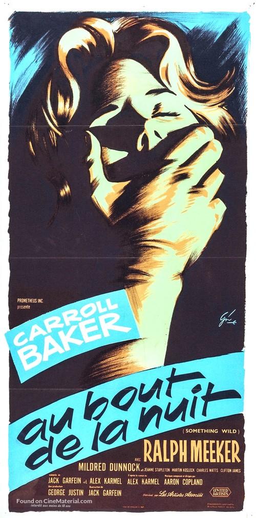 Something Wild - French Movie Poster