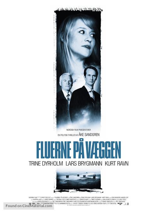 Fluerne på væggen - Danish Movie Poster