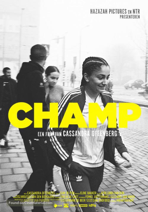 Champ - Dutch Movie Poster