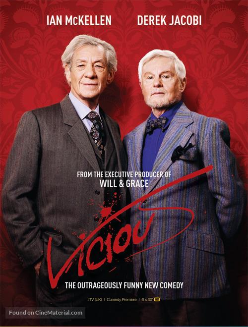 """Vicious"" - British Movie Poster"