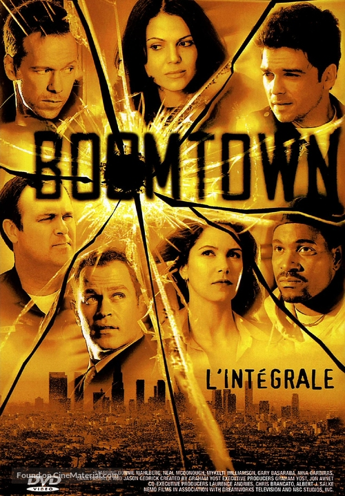 """""""Boomtown"""" - French DVD movie cover"""