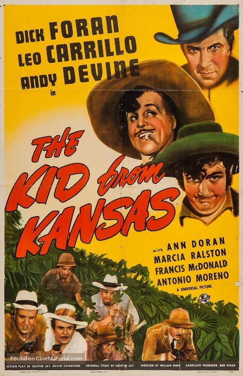 The Kid from Kansas - Movie Poster