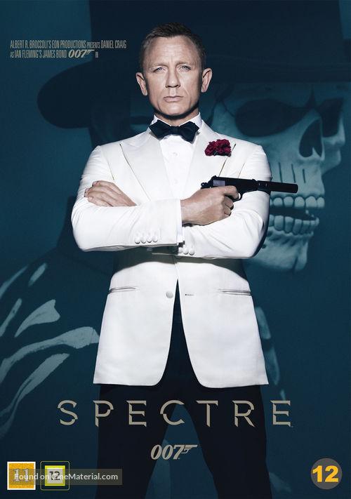 Spectre - Danish DVD cover