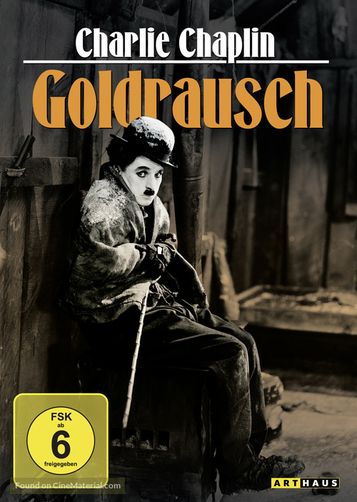 The Gold Rush - German DVD movie cover