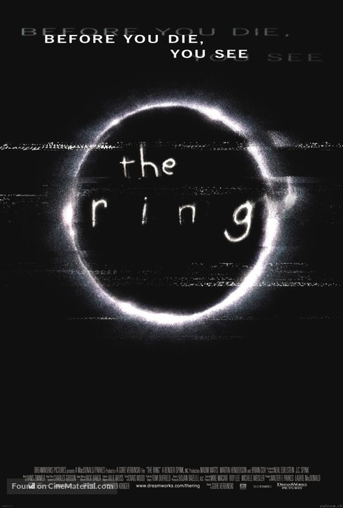 The Ring - International Movie Poster