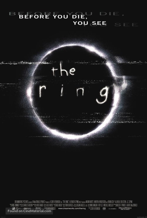 The Ring - Movie Poster