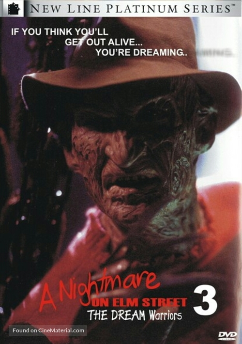 A Nightmare On Elm Street 3: Dream Warriors - Movie Cover
