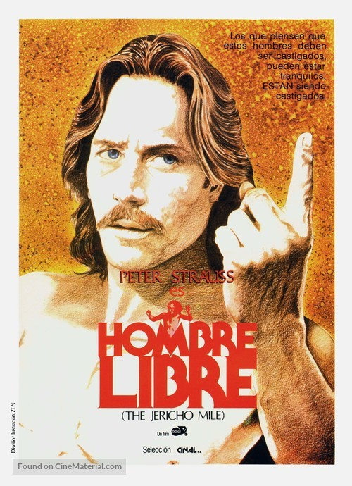 The Jericho Mile - Spanish Movie Poster