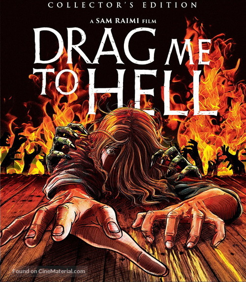 Drag Me to Hell - Blu-Ray movie cover