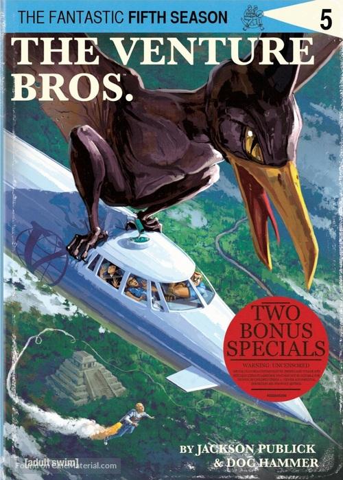 """The Venture Bros."" - DVD movie cover"