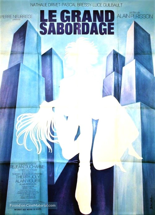 Le grand sabordage - French Movie Poster