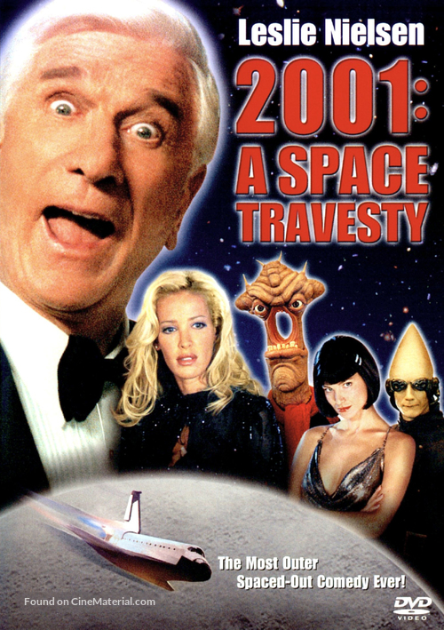 2001: A Space Travesty - DVD movie cover