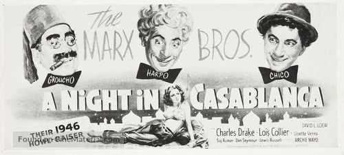 A Night in Casablanca - Movie Poster