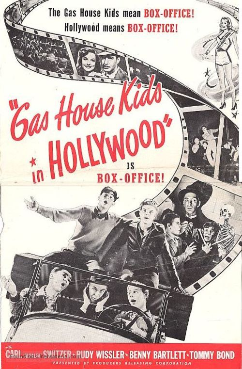 The Gas House Kids in Hollywood - Movie Poster