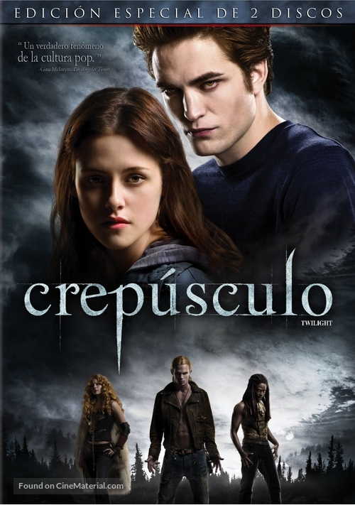 Twilight - Argentinian Movie Cover
