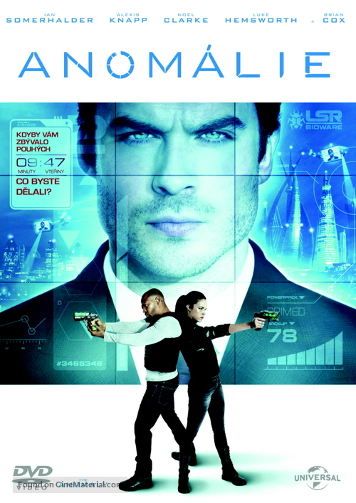 The Anomaly - Czech DVD movie cover