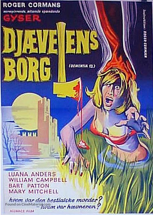 Dementia 13 - Danish Movie Poster