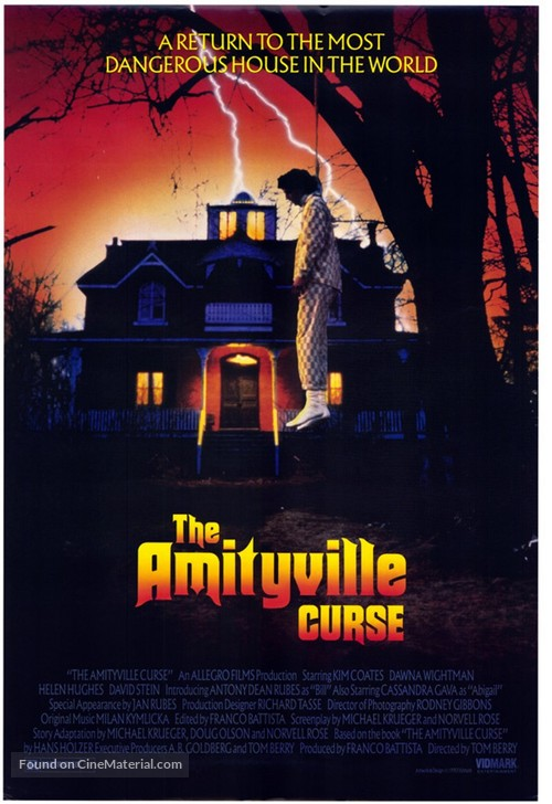 The Amityville Curse - Movie Poster