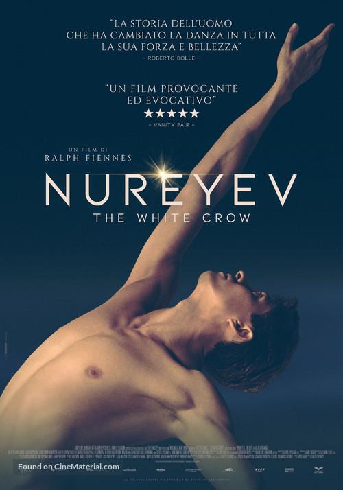 "The White Crow Movie Poster Rudolf Nureyev 2019 Film Print 24x36/""//60x90cm"