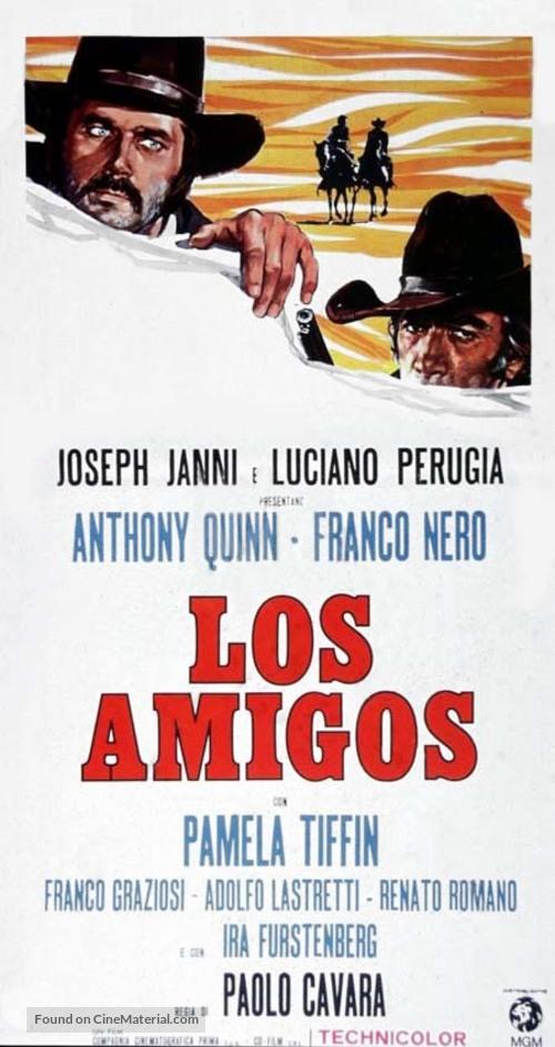 Amigos, Los - Italian Movie Poster