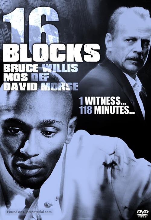 16 Blocks - DVD movie cover