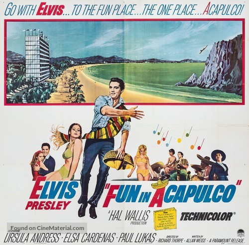 Fun in Acapulco - Movie Poster