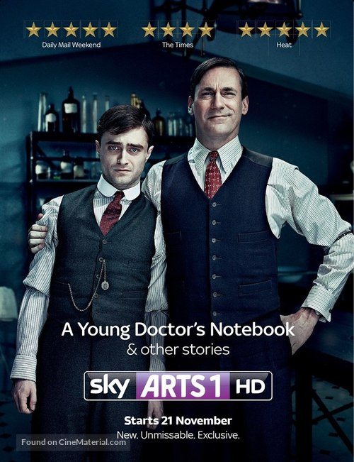 """""""A Young Doctor's Notebook"""" - British Movie Poster"""