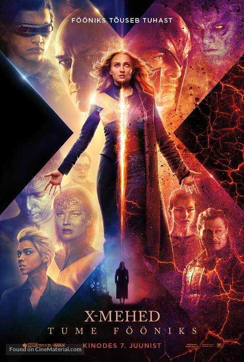 Dark Phoenix - Estonian Movie Poster
