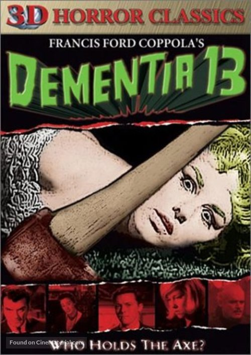 Dementia 13 - DVD movie cover