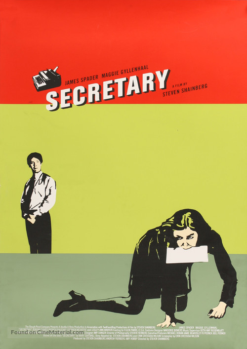 Secretary - Movie Poster