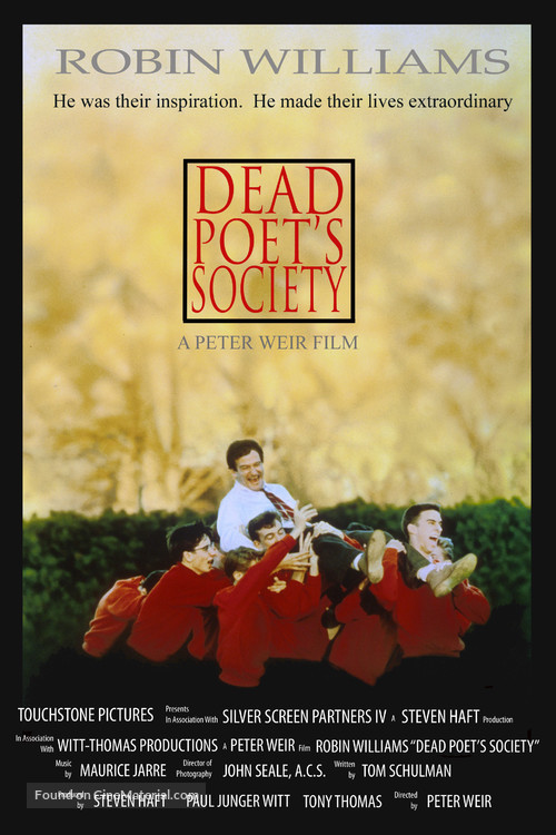 Dead Poets Society - Movie Poster