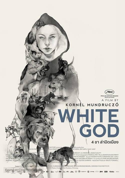 Fehér isten - Thai Movie Poster