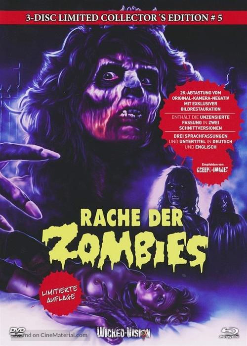 La revanche des mortes vivantes - German Blu-Ray movie cover