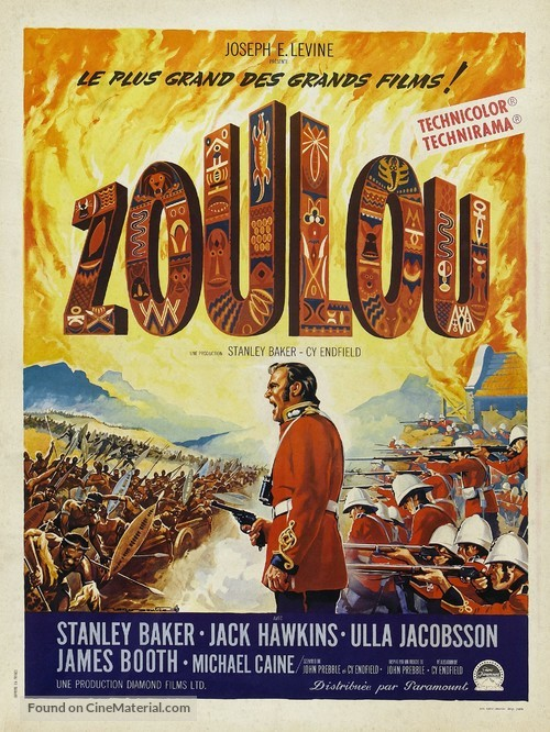 Zulu - French Movie Poster