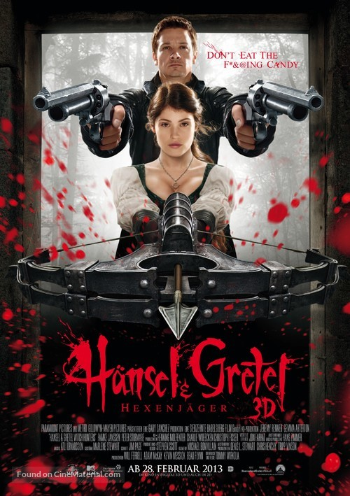 Hansel & Gretel: Witch Hunters - Austrian Movie Poster