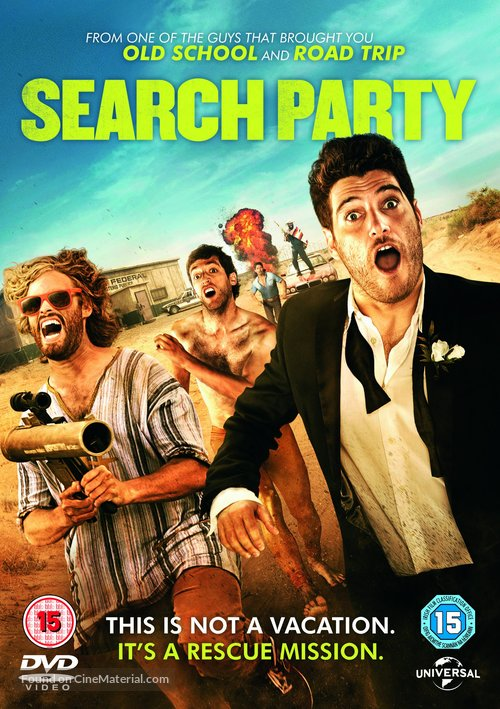Search Party - British DVD movie cover