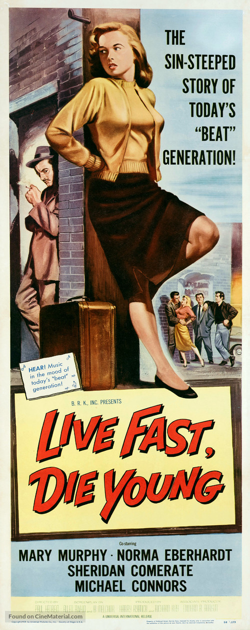 Live Fast, Die Young - Movie Poster