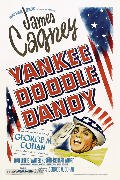 Yankee Doodle Dandy - Theatrical movie poster