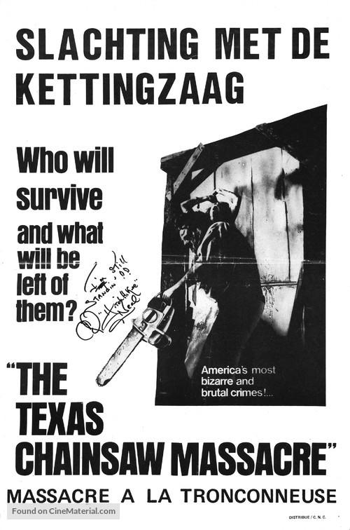 The Texas Chain Saw Massacre - Dutch Movie Poster