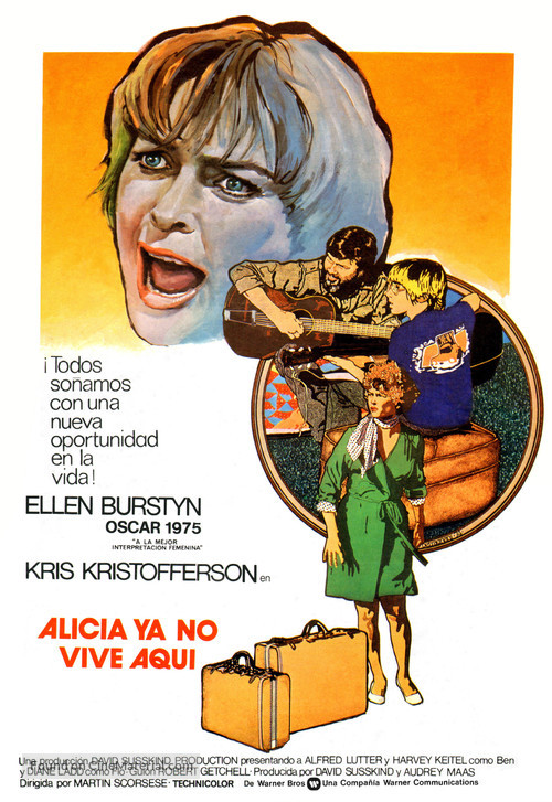 Alice Doesn't Live Here Anymore - Spanish Movie Poster