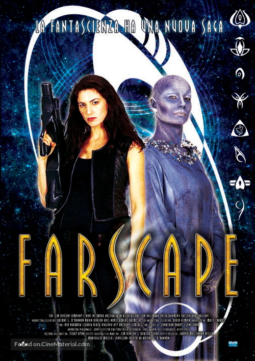 """Farscape"" - Italian DVD movie cover"