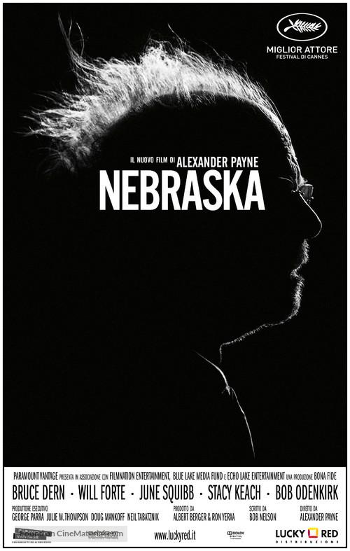 Nebraska - Italian Movie Poster