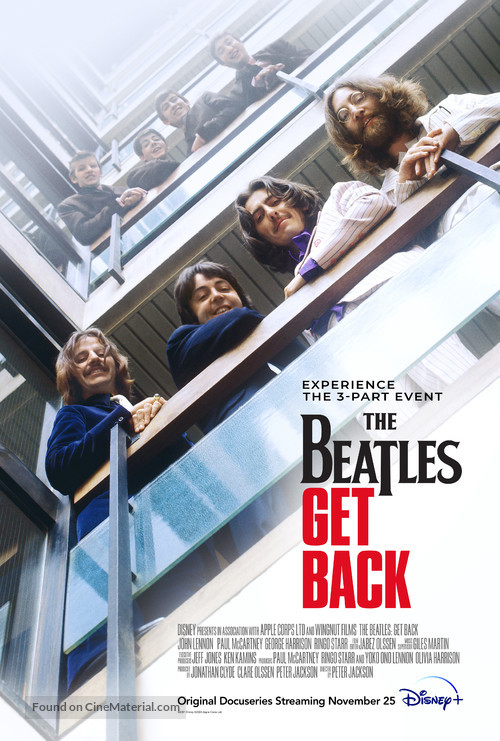 The Beatles: Get Back - Movie Poster