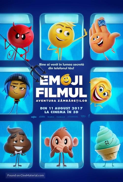 The Emoji Movie - Romanian Movie Poster